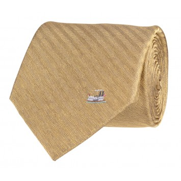 Riverboat Tie: Gold